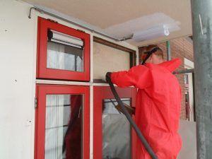 Asbestsanering via Alhra