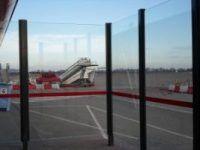 Glazen windscherm