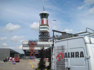 Renovatie luchtverkeerstoren Rotterdam The Hague Airport