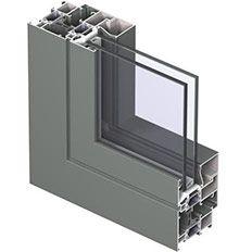 Aluminium raam